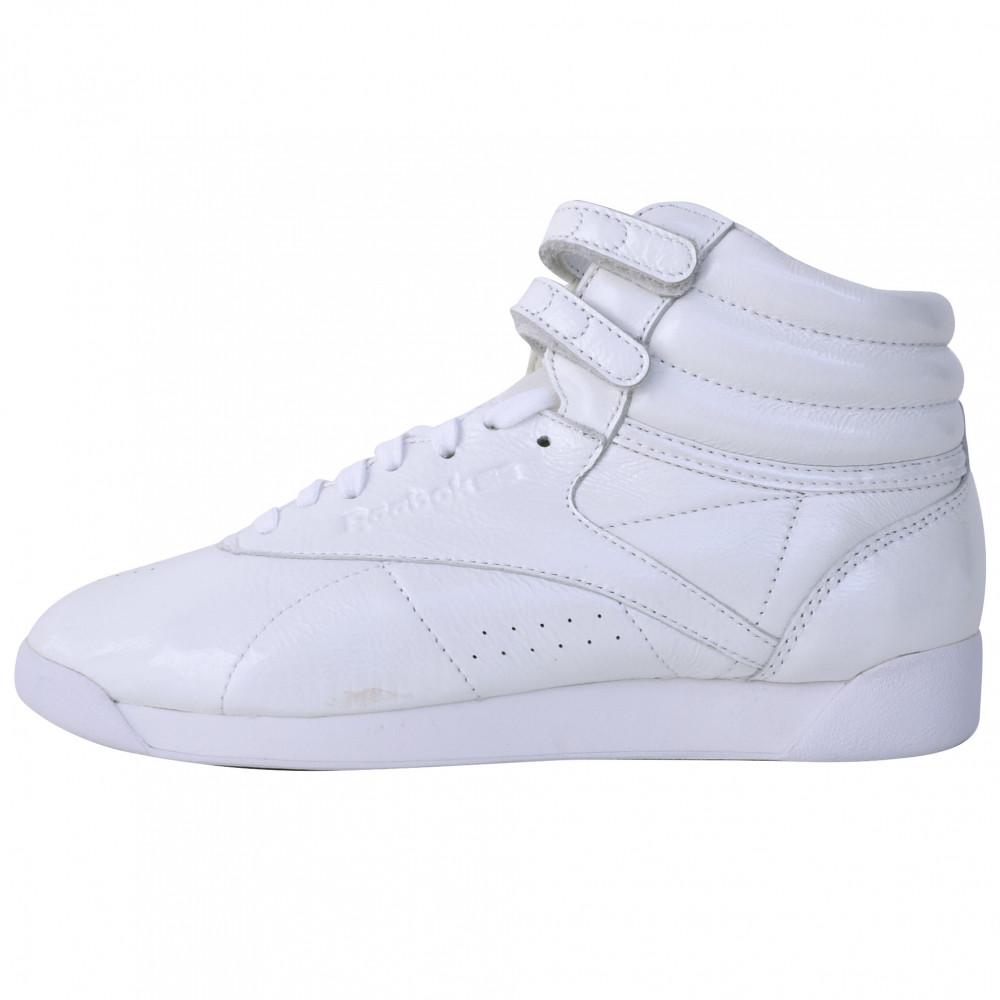 Reebok Freestyle High (White/Iridescent)