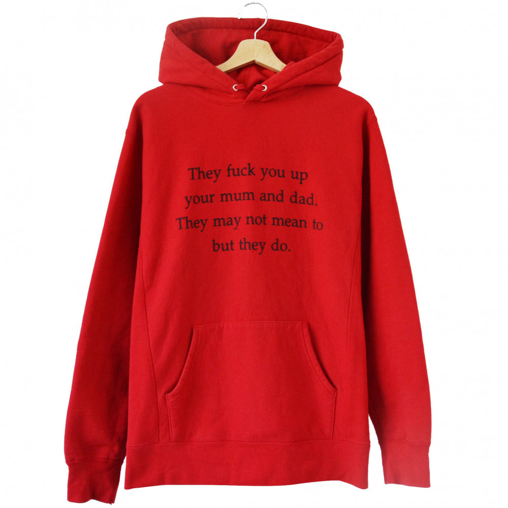 Supreme They Fuck You Up Hoodie (Red)
