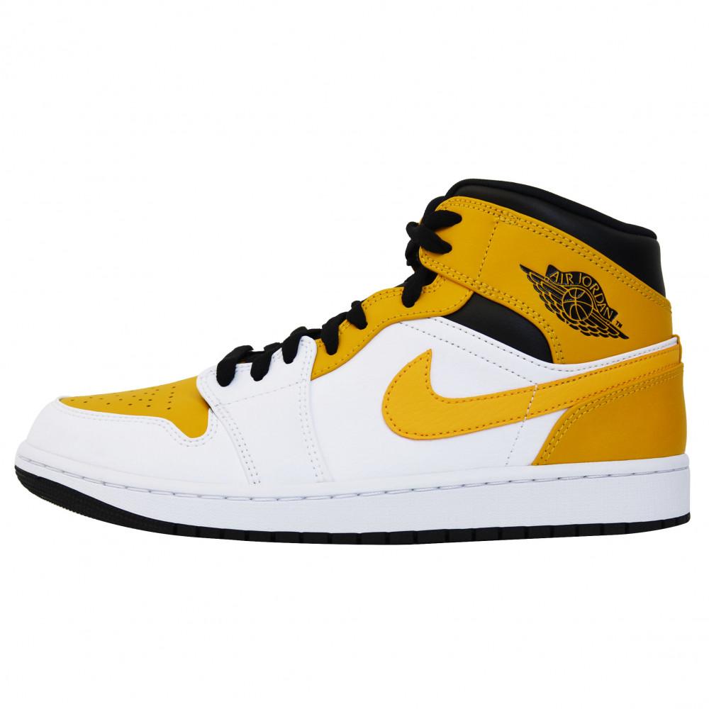 Nike Air Jordan 1 Mid (University Gold)