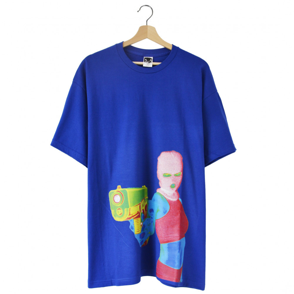 Distinct Armed and Dangerous Tee (Blue)