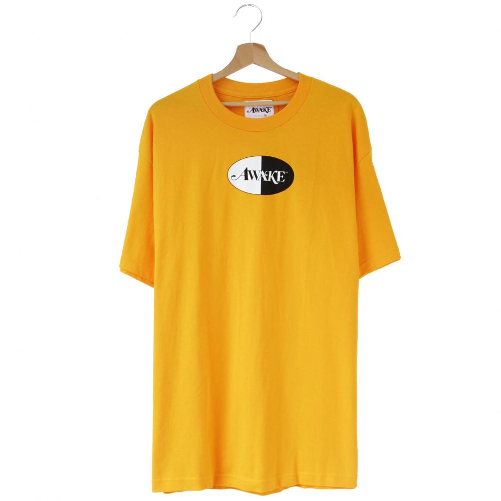 Awake Split Logo Tee (Yellow)