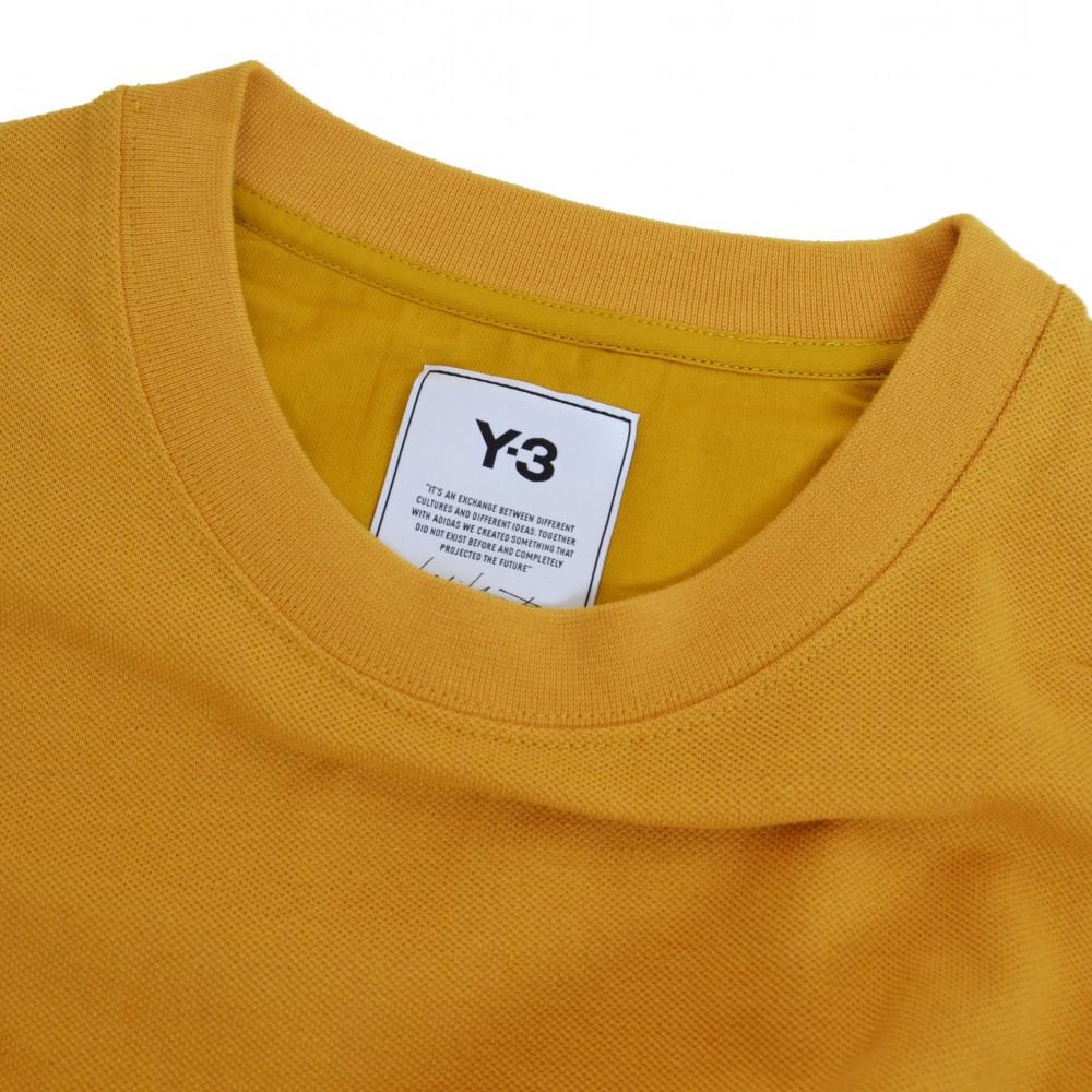 adidas Y-3 Classic Heavy Pique Crewneck (Yellow)