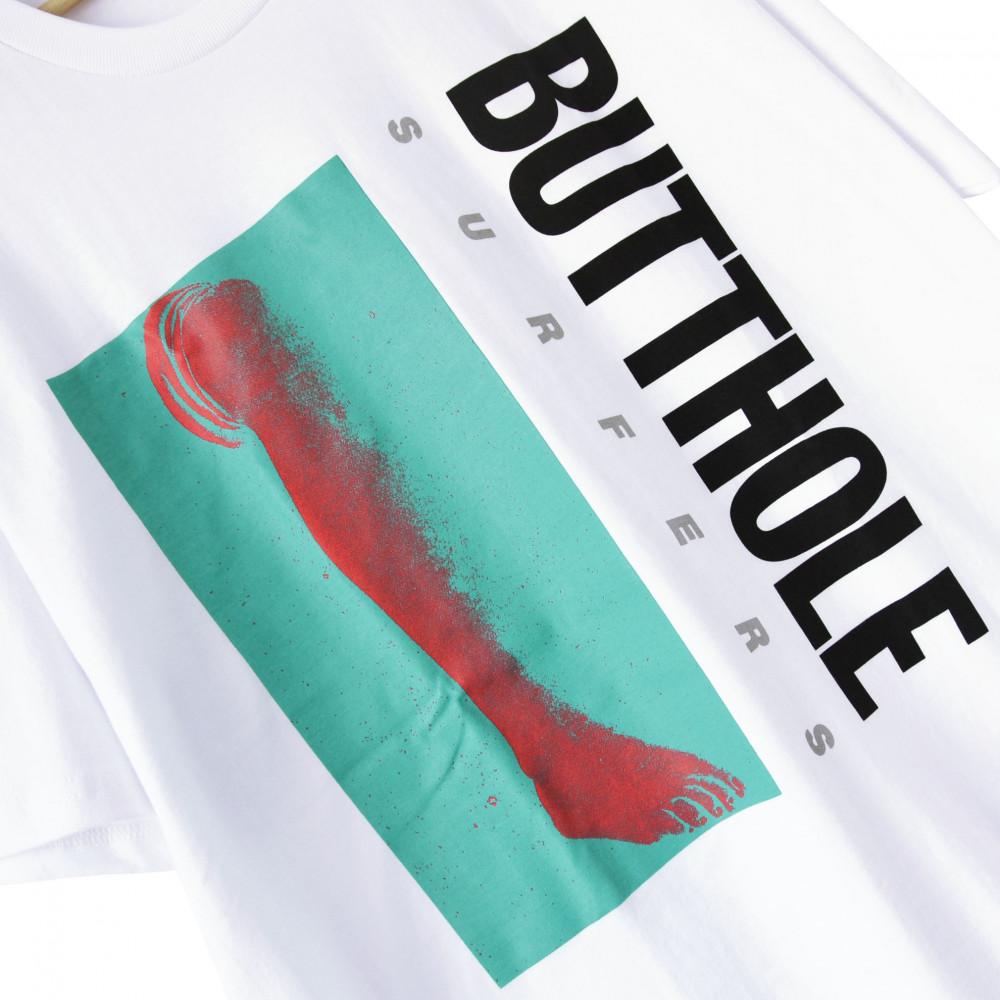 Supreme x Butthole Surfers Leg Tee (White)