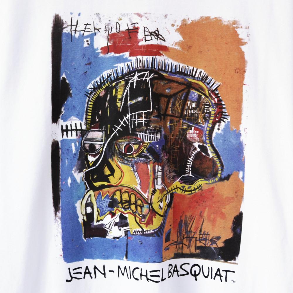 Jean-Michel Basquiat x Uniqlo Skull Tee (White)