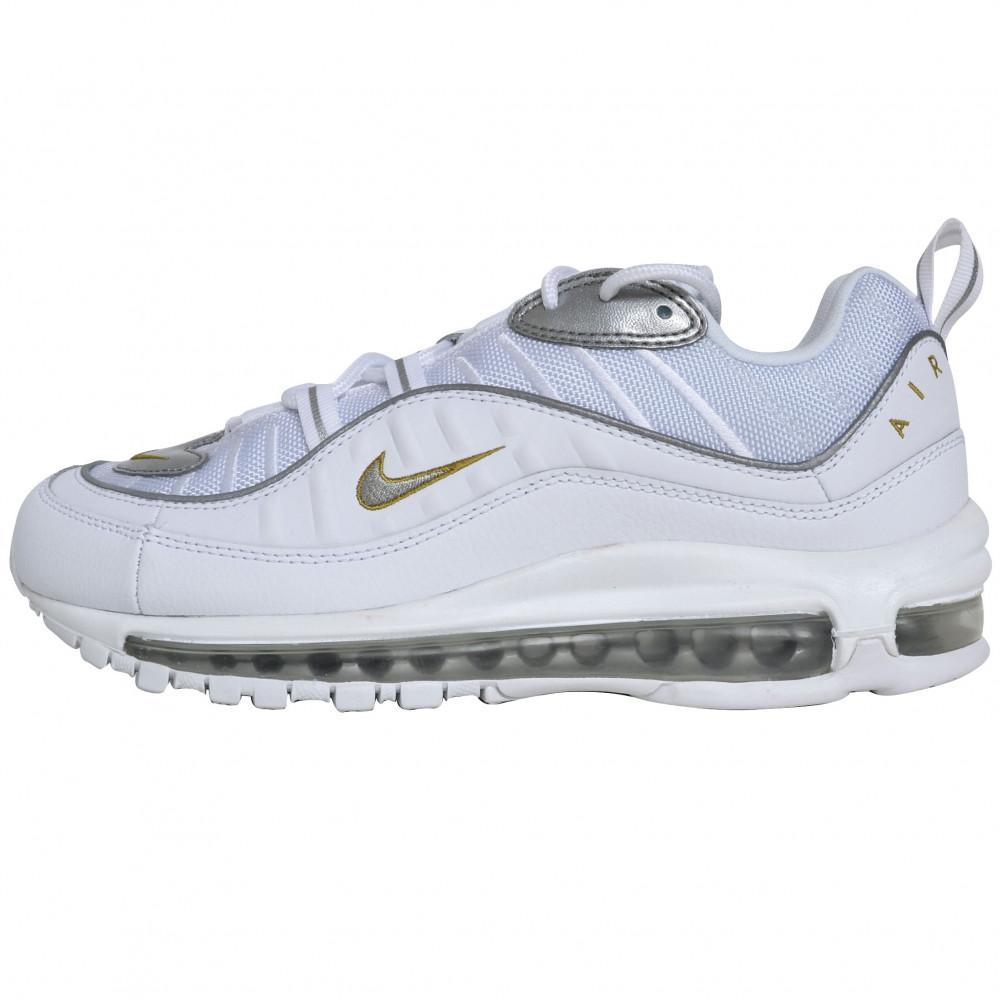 Nike Air Max 98 (White/Gold)