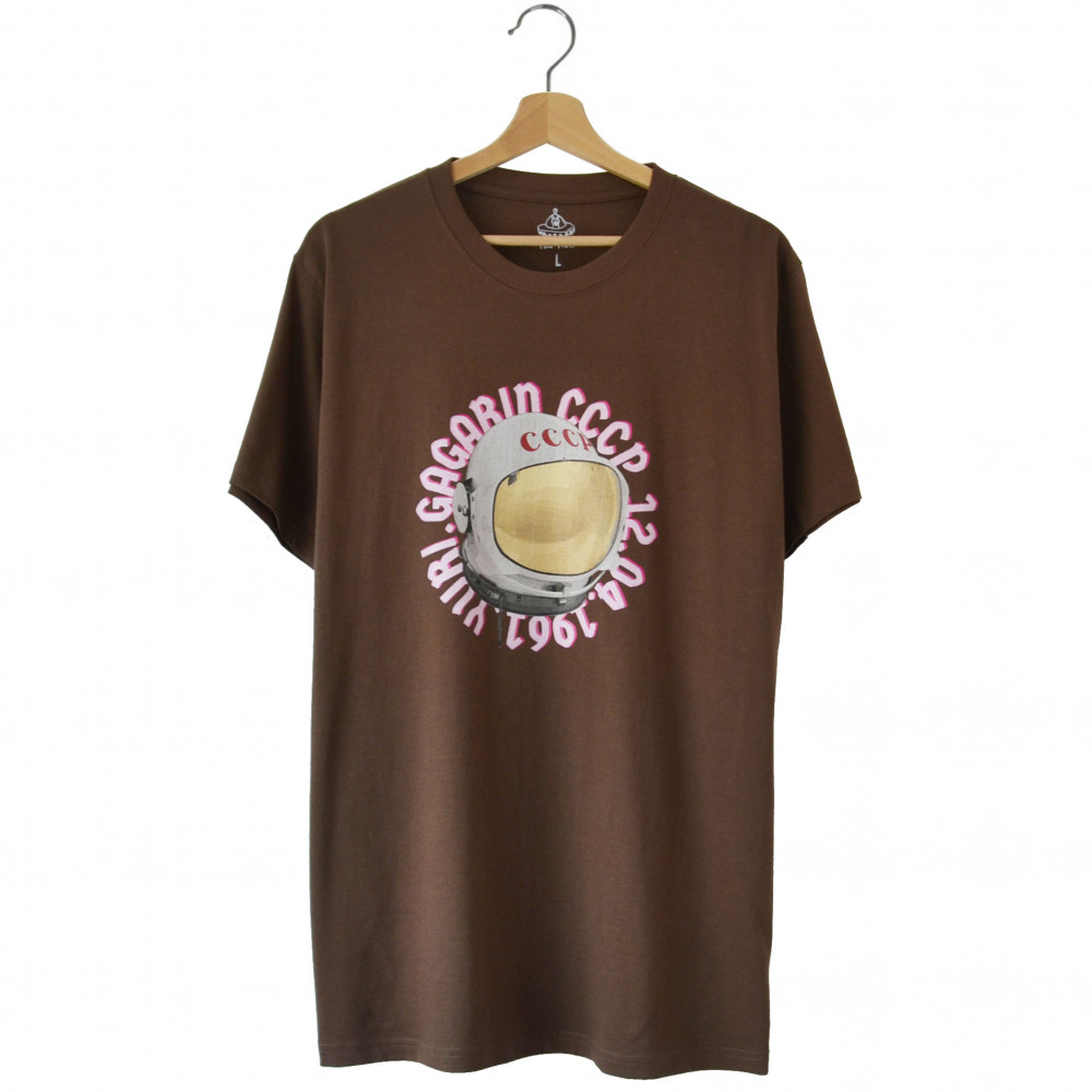 The View Lab Gagarin Tee (Brown)