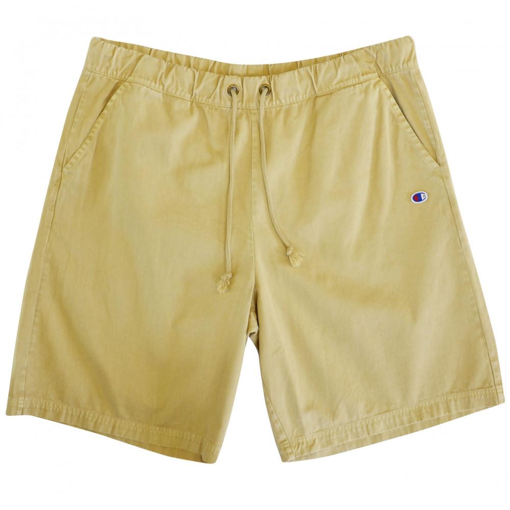 Champion Reverse Weave Shorts (Washed Beige)