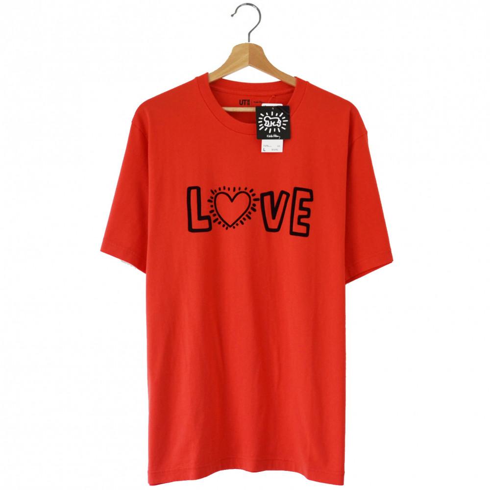 Keith Haring x Uniqlo Love Tee (Orange)