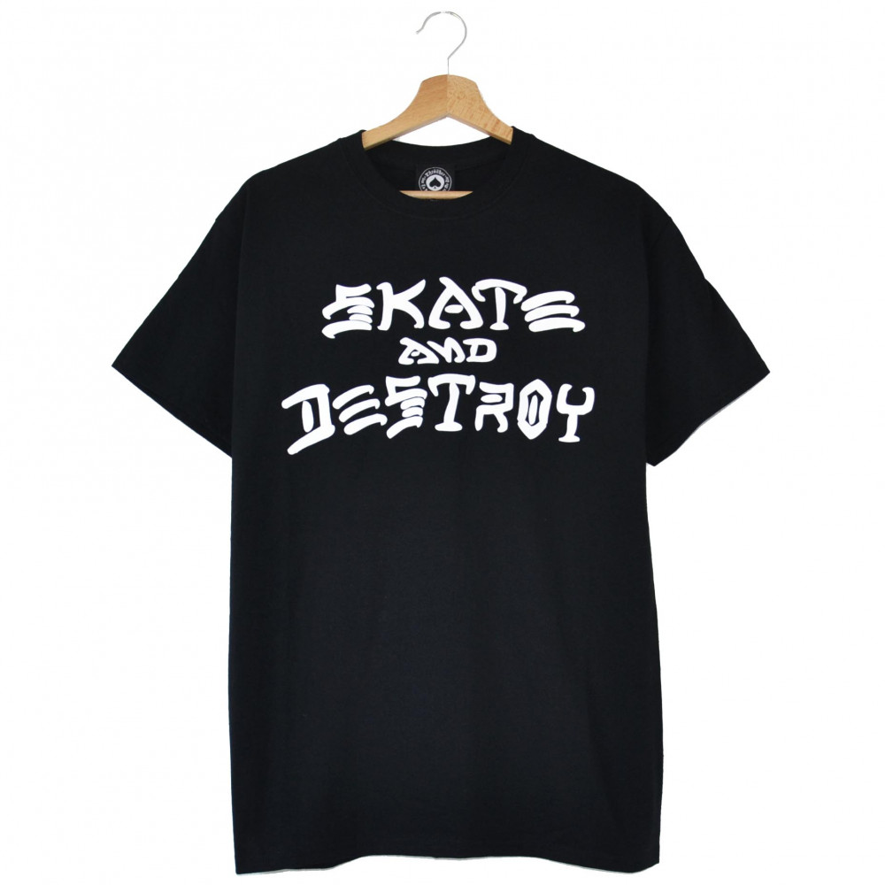Thrasher Skate And Destroy Tee (Black)