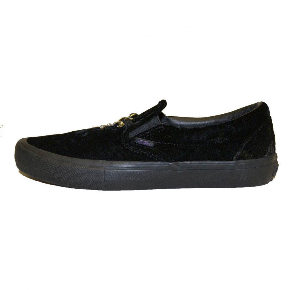 Vans x Needles Velour Slip-On (Black)