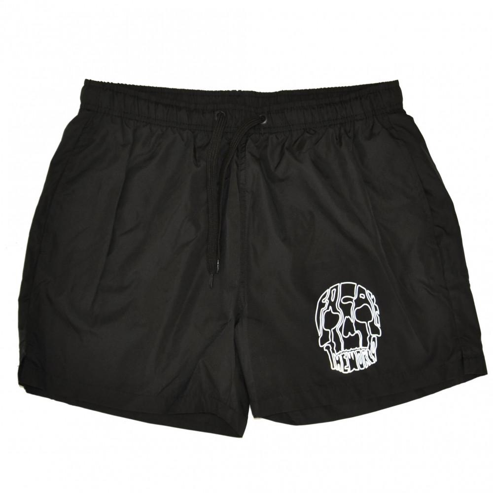 Freak 3M Skull Swim Shorts (Black)