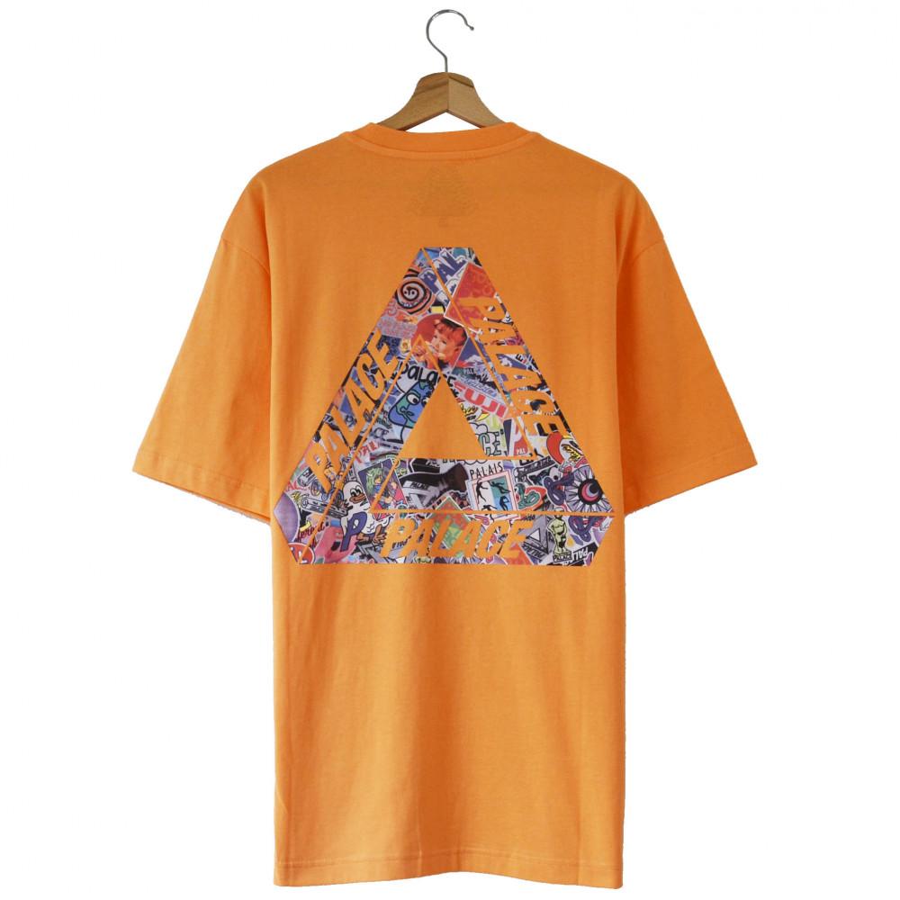 Palace Tri-Sticker Pack Tee (Orange)
