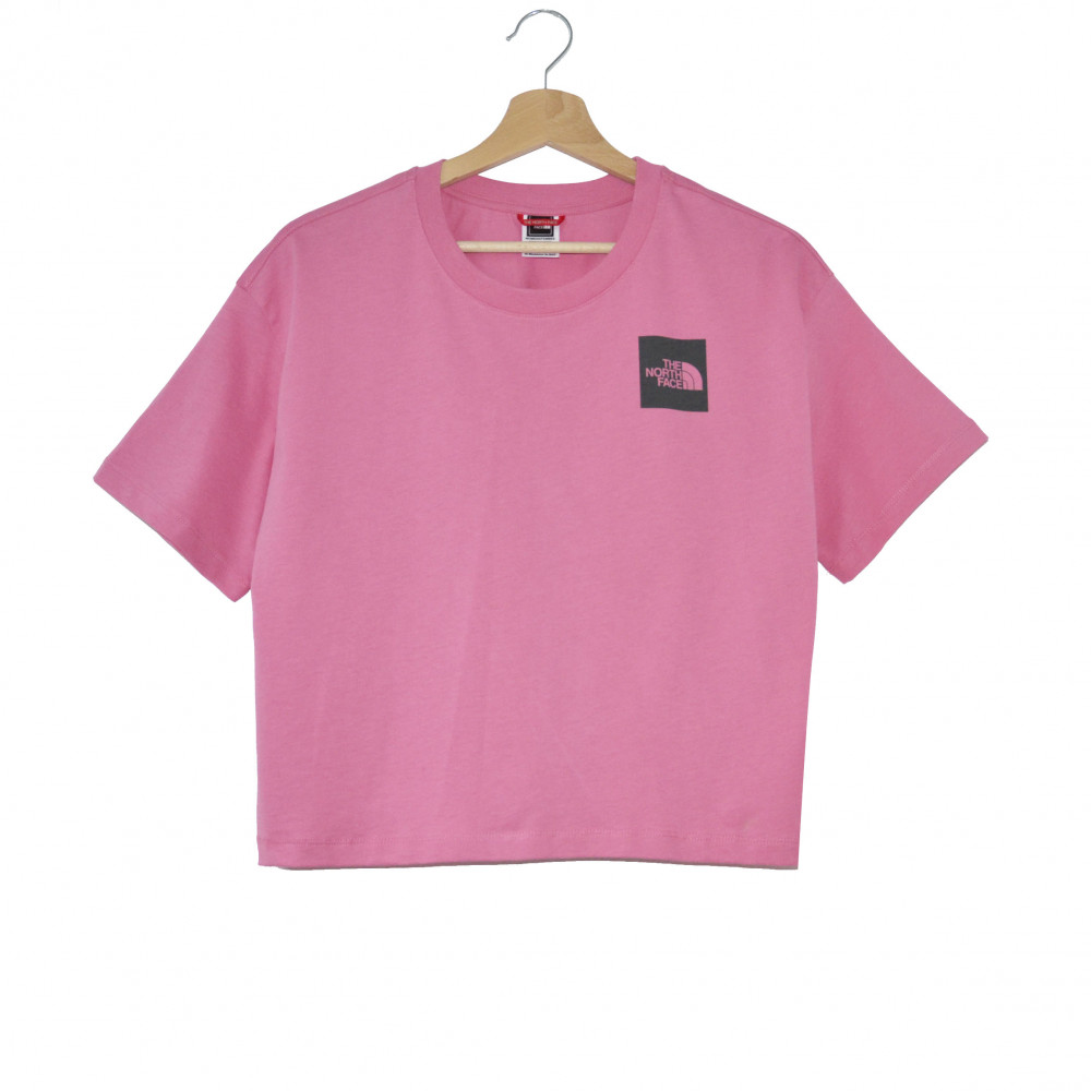 The North Face Fine Cropped Tee (Pink)