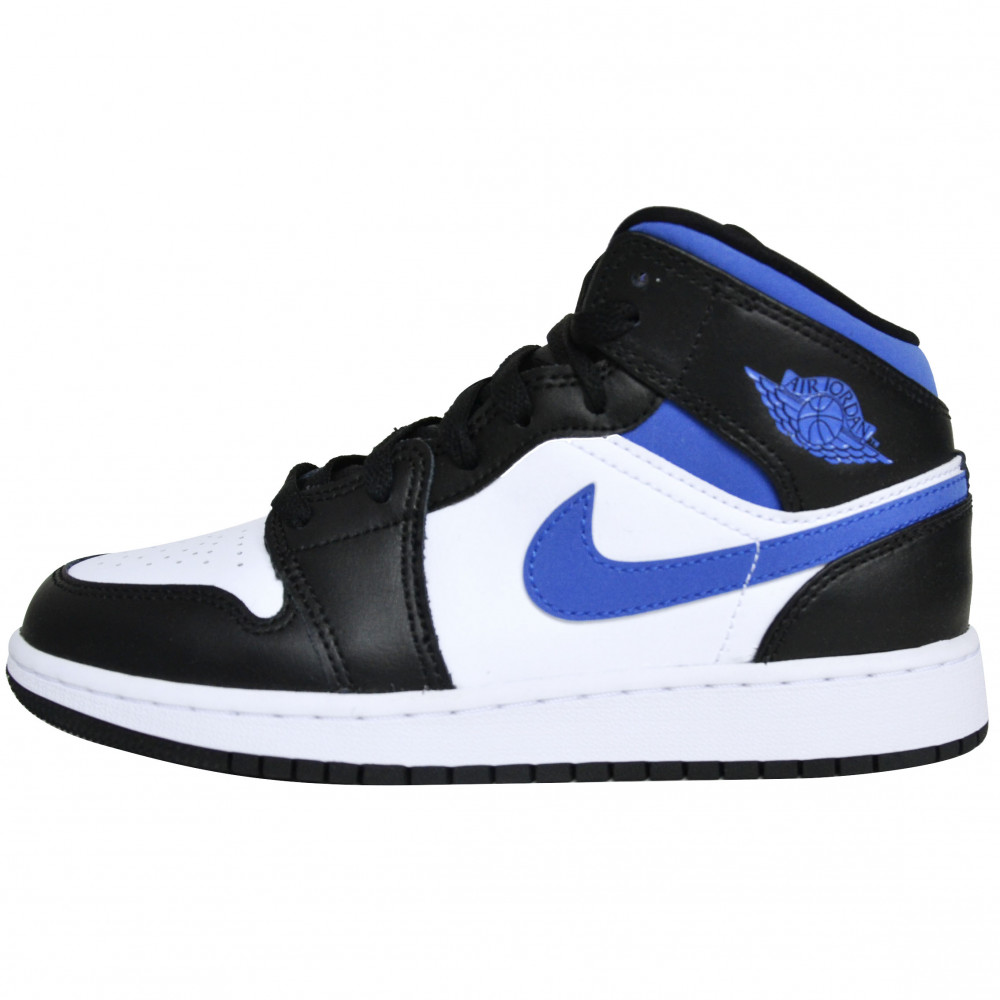 Nike Air Jordan 1 Mid (Racer Blue)