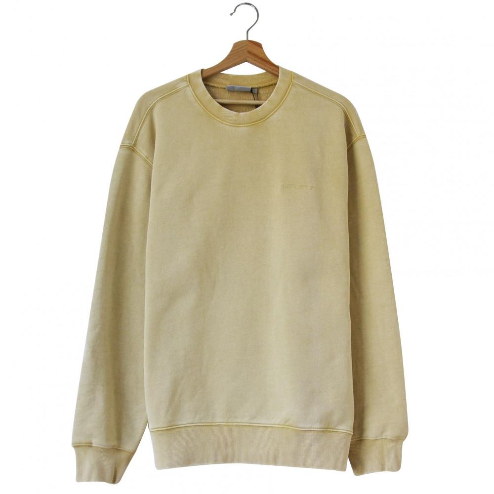 Carhartt Mosby Script Sweatshirt (Dusty Brown)