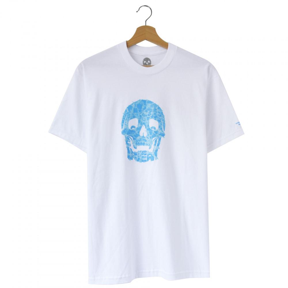 Freak Water Skull Logo Tee (White)