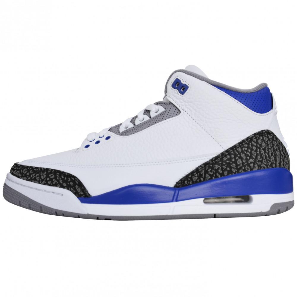 Nike Air Jordan 3 High (Racer Blue)