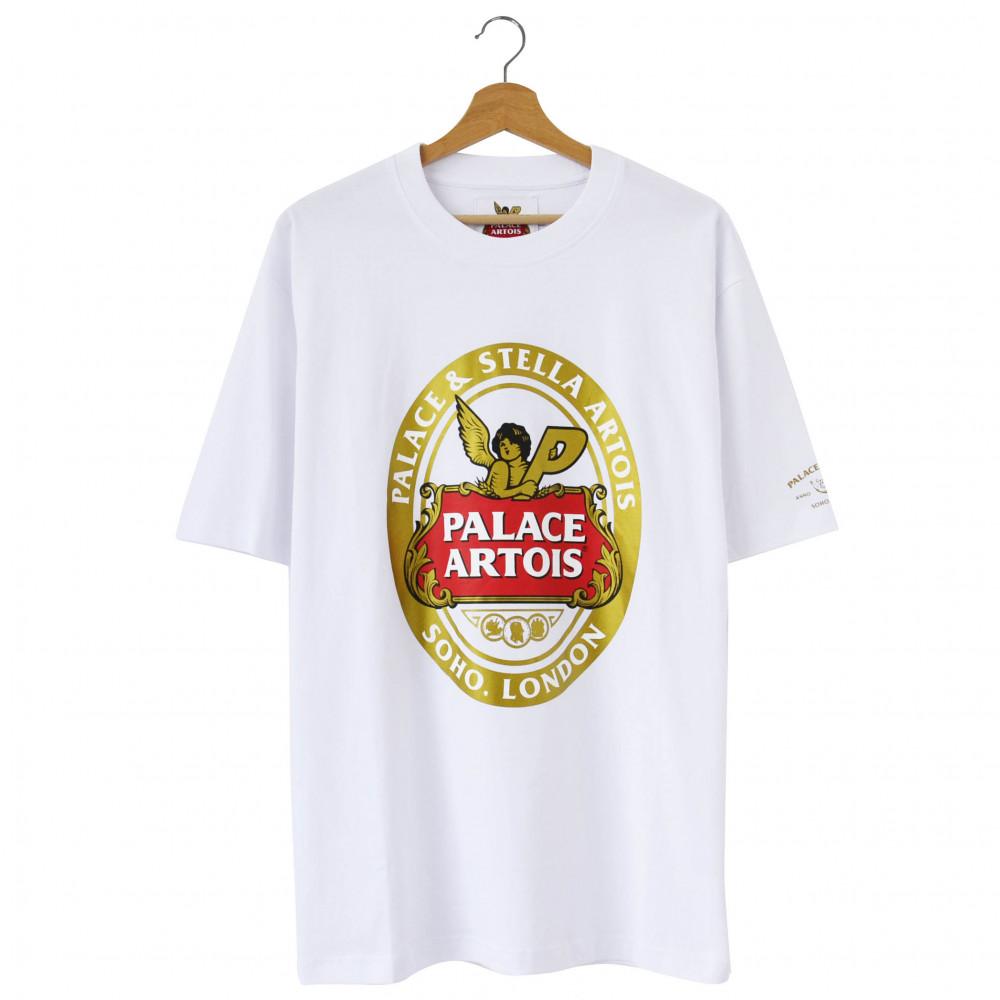 Palace x Stella Artois Coaster Tee (White)