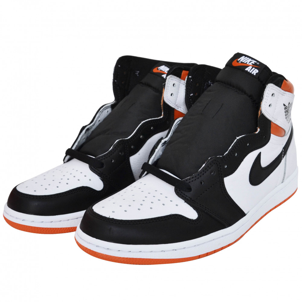 Nike Air Jordan 1 High OG (Black/Electro Orange)