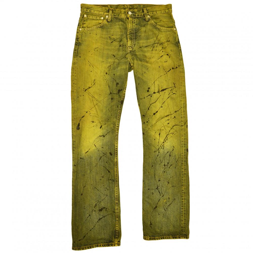 Distinct Levis Splash Jeans (Green/Yellow)