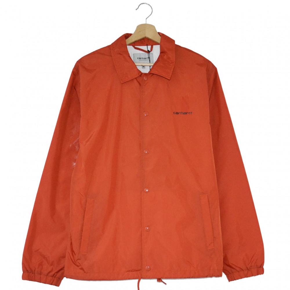 Carhartt WIP Script Coach Jacket (Orange)