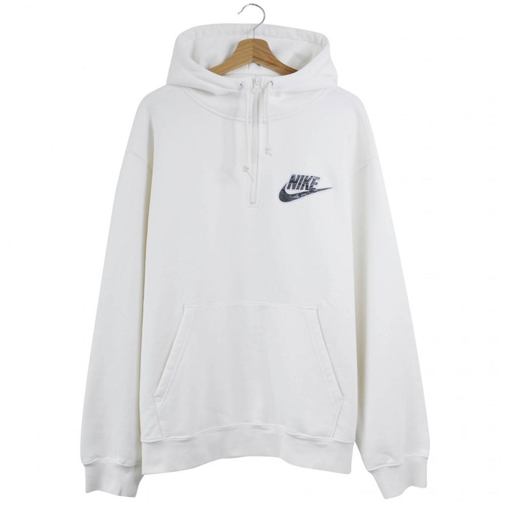Supreme x Nike Half Zip Hoodie (White)