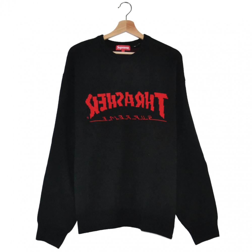 Supreme x Thrasher Sweater (Black)