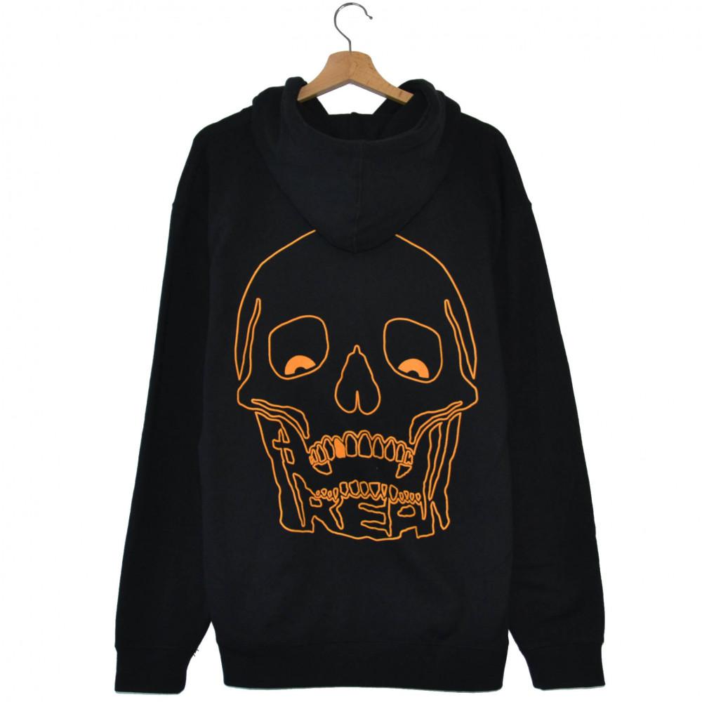Freak Orange Logo Hoodie (Black)