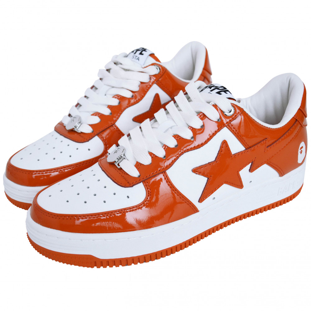 BAPE Bapesta Low (Orange)