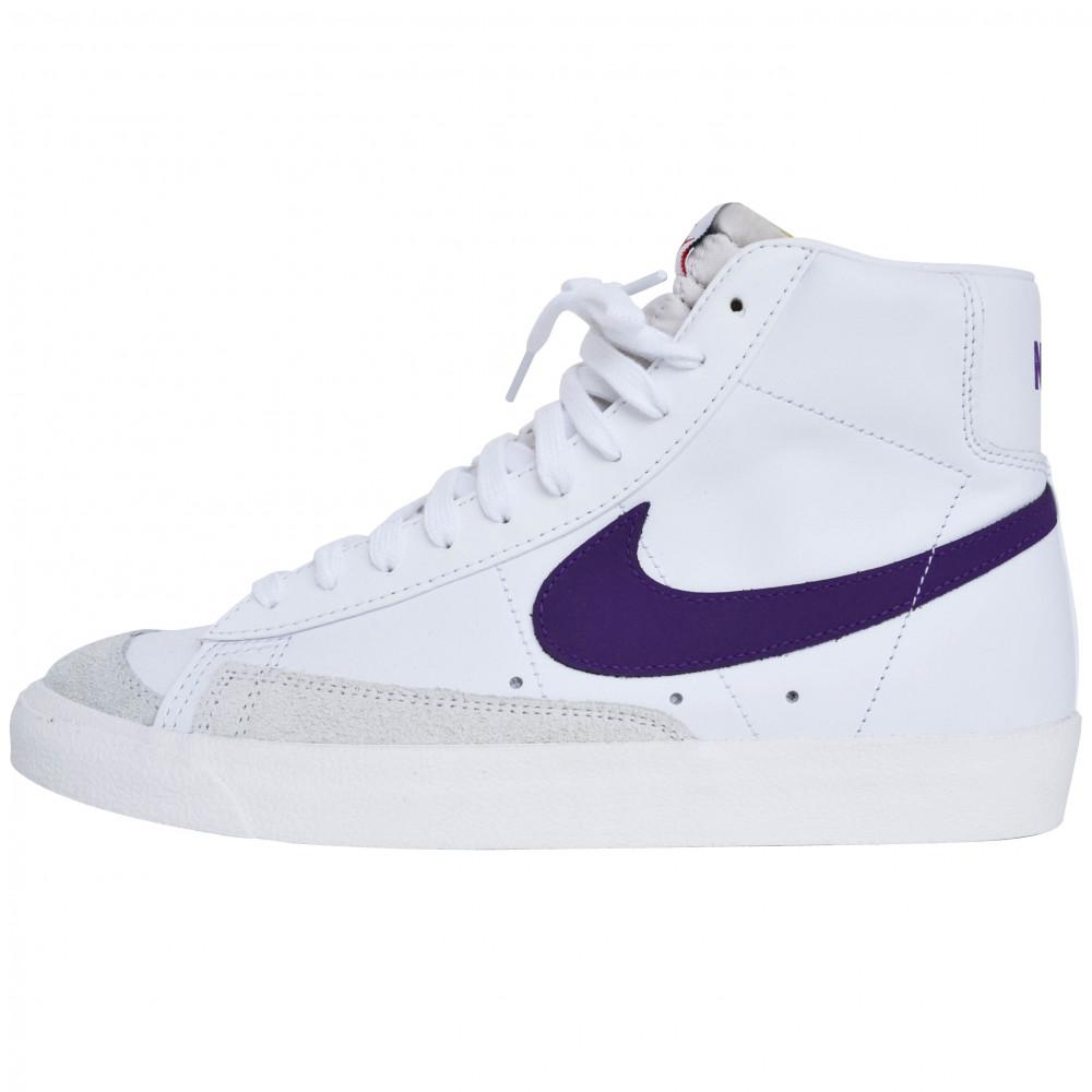 Nike Blazer High (White/Purple)