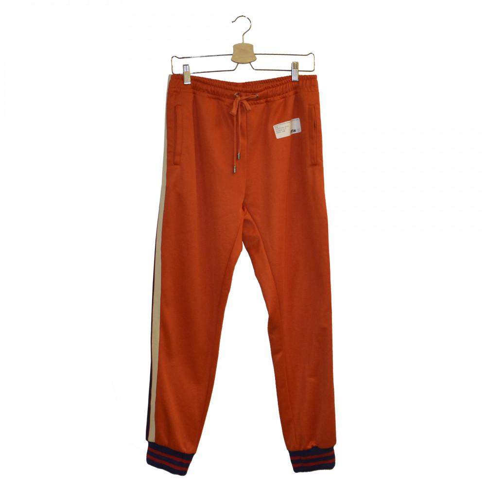 Gucci Technical Jersey Sweatpants (Orange)