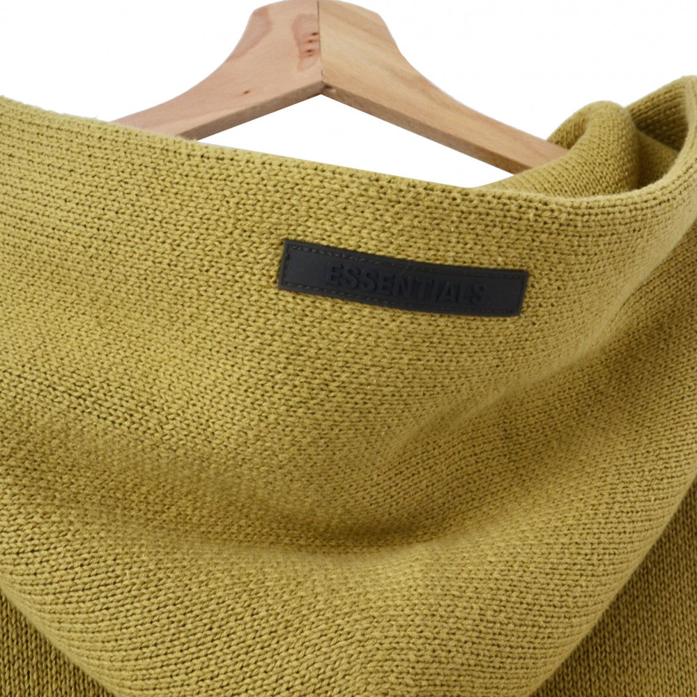 Essentials by Fear of God Knit Hoodie (Amber)