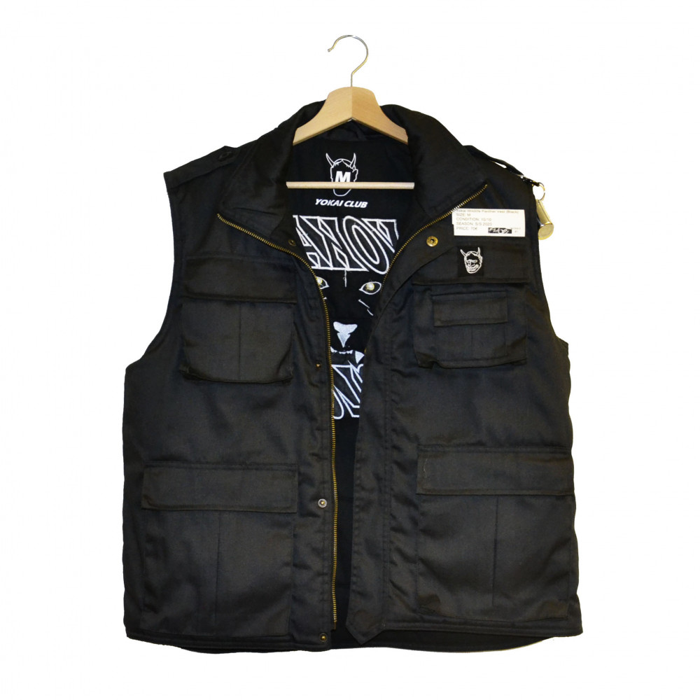 Yokai Wildlife Panther Vest (Black)