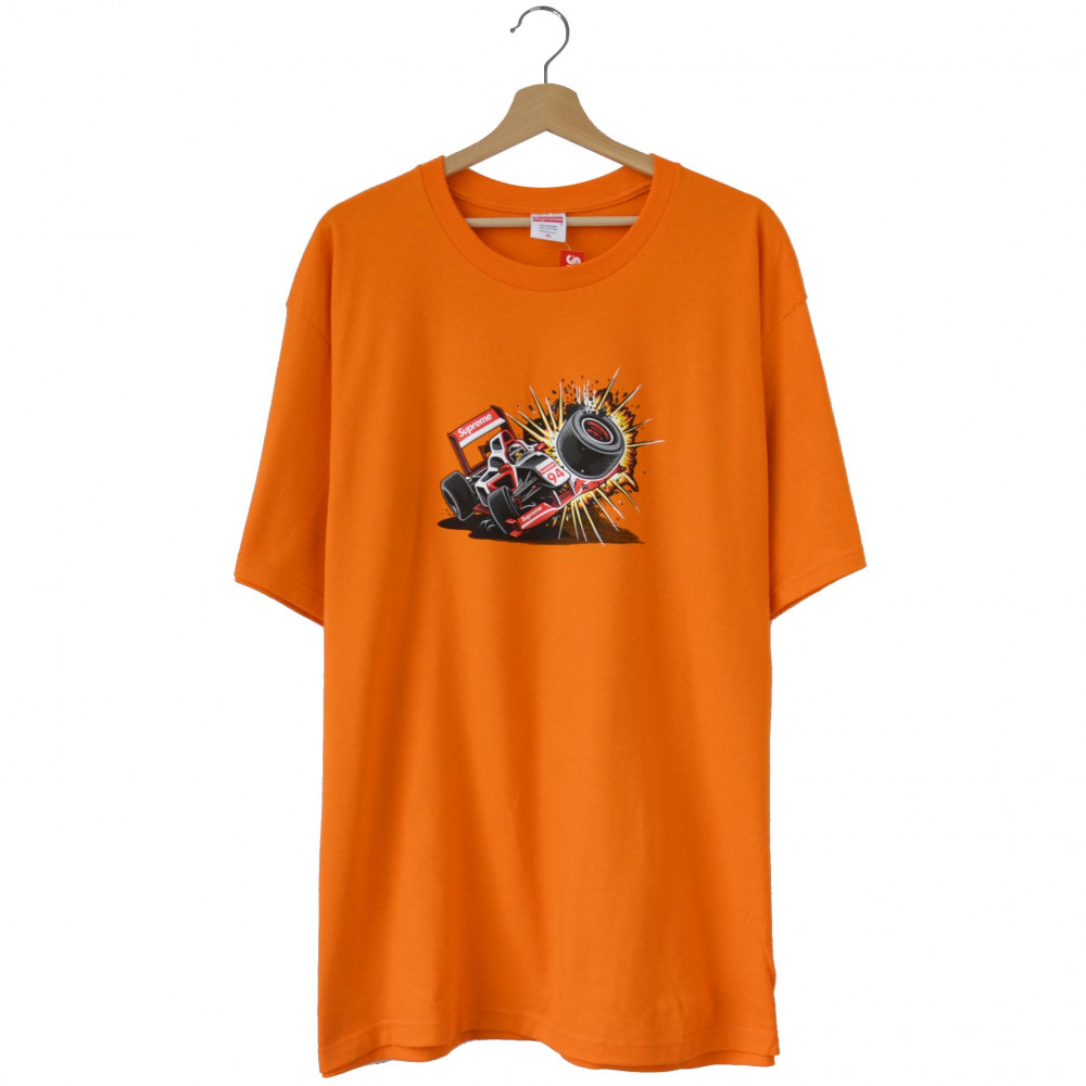 Supreme Crash Tee (Orange)
