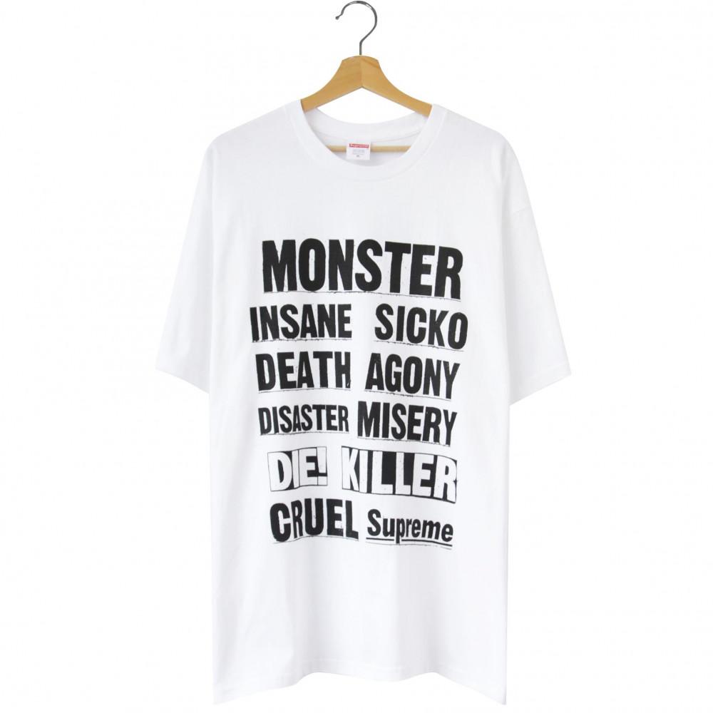 Supreme Monster Tee (White)