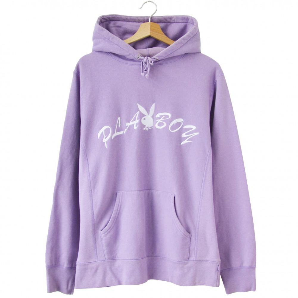 Supreme x Playboy Hoodie (Dusty Lavender)