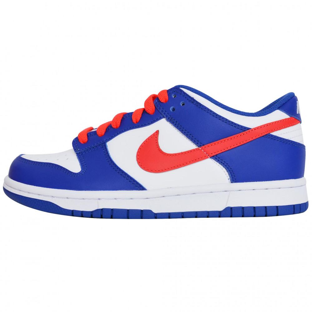 Nike Dunk Low WMNS (White/Bright Crimson)