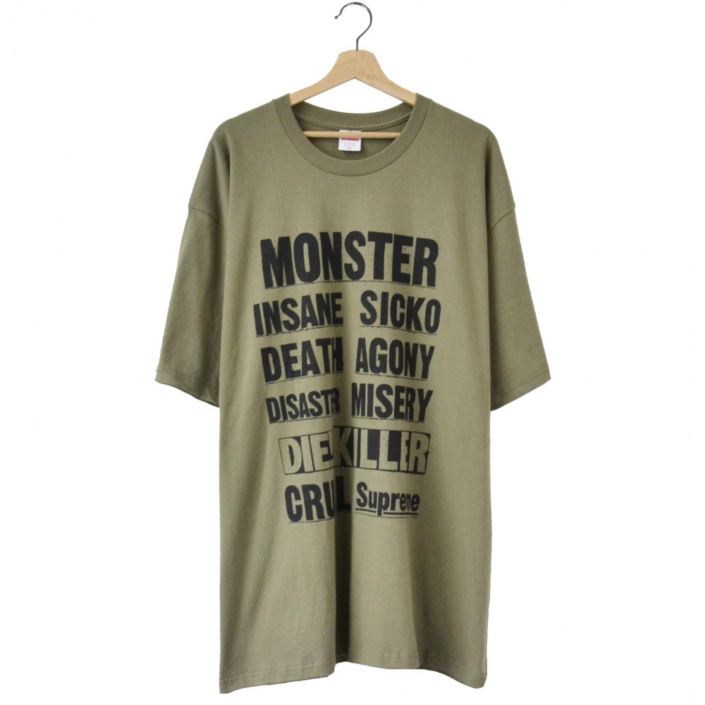 Supreme Monster Tee (Light Olive)