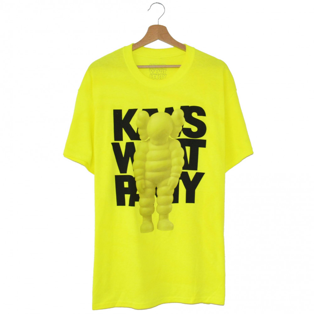 Kaws x Brooklyn Museum What Party (Yellow)