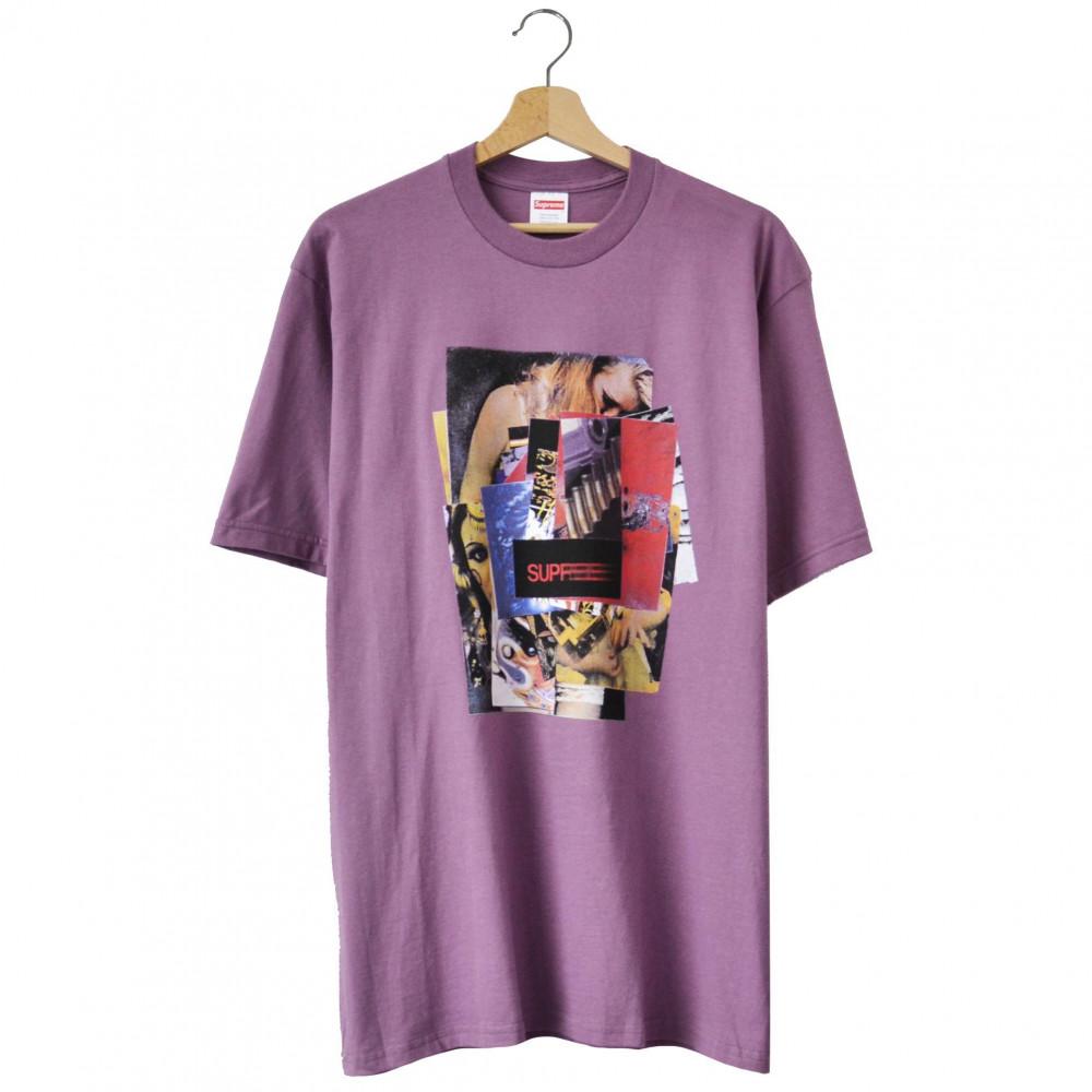 Supreme Stack Tee (Purple)
