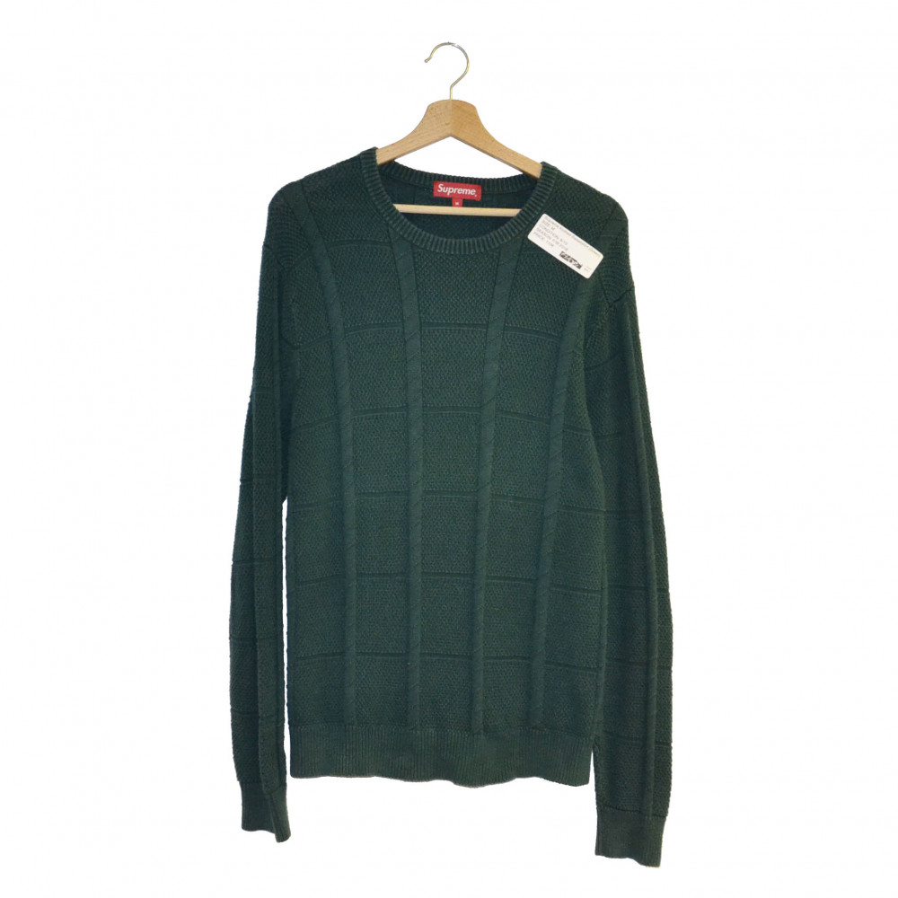 Supreme Knitted Sweater(Green)