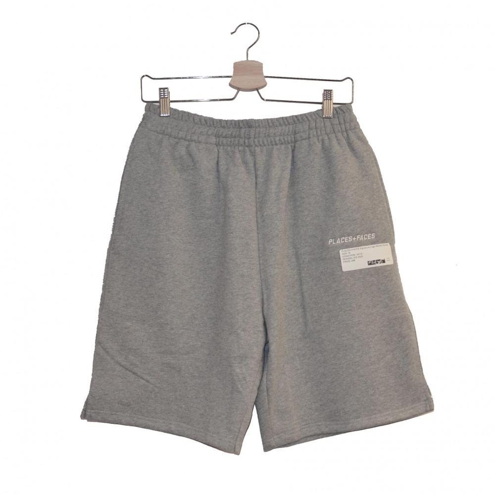 PLACES+FACES Signature Logo Shorts (Grey)