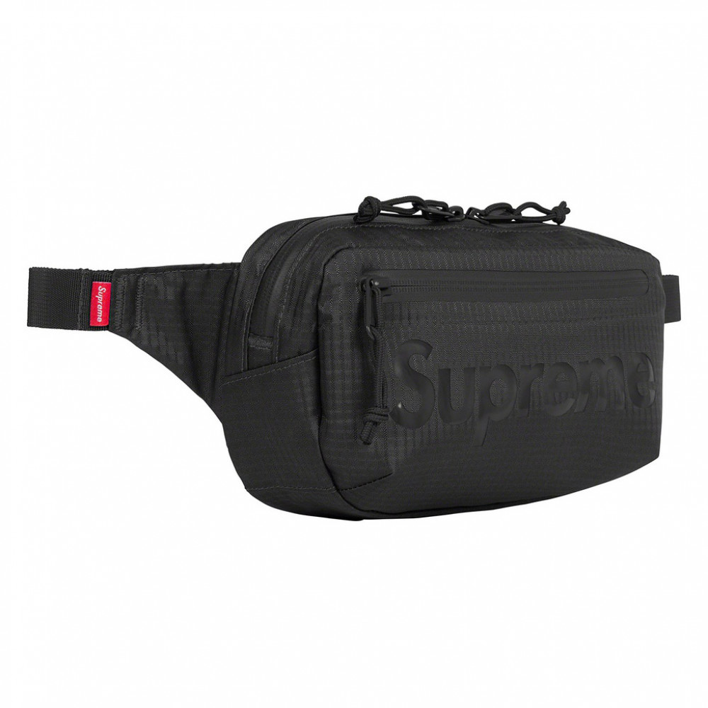 Supreme Waist Bag (Black)