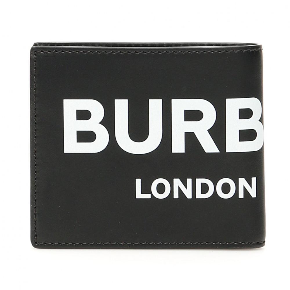 Burberry Big Logo Wallet (Black)
