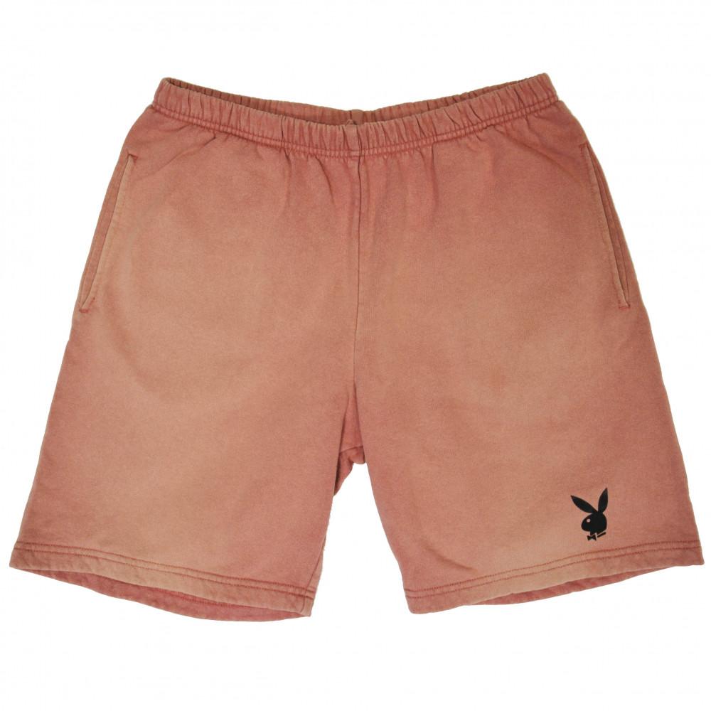 Supreme x Playboy Velvet Print Shorts (Mauve)