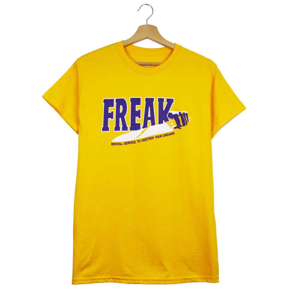 Freak Rental Tee (Yellow)
