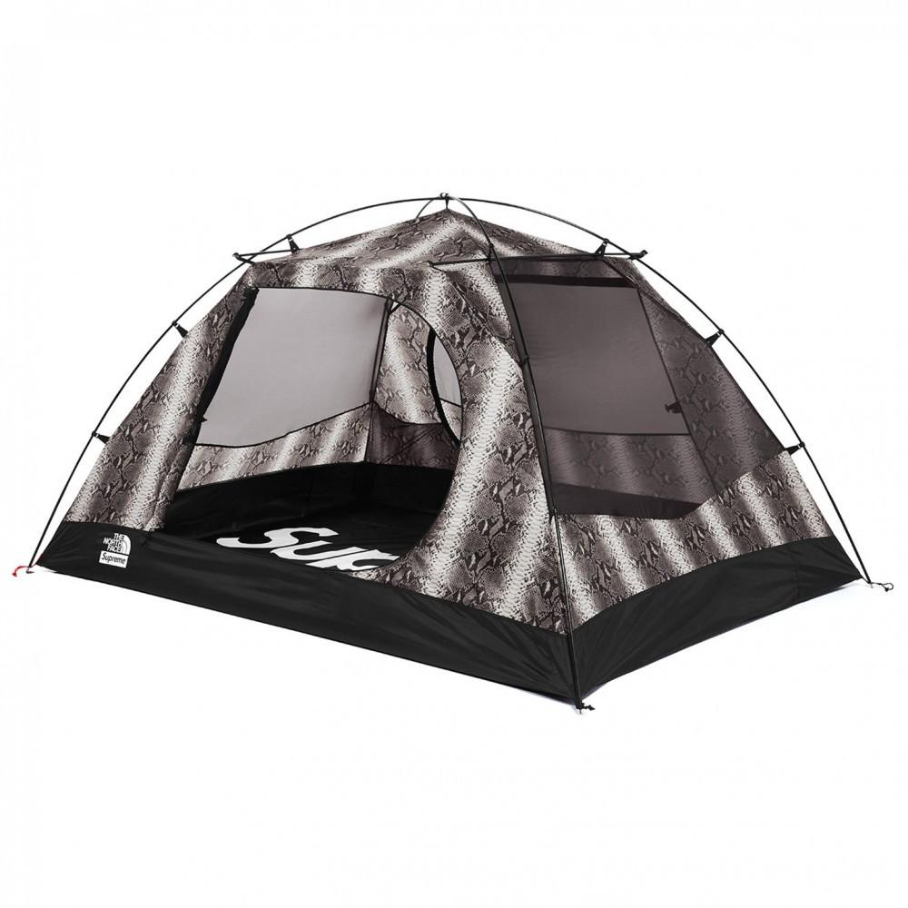 Supreme x The North Face Snakeskin Taped Seam Stormbreak 3 Tent (Black)