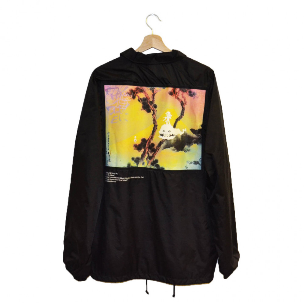 Kanye x Kid Cudi Kids See Ghosts Jacket (Black)