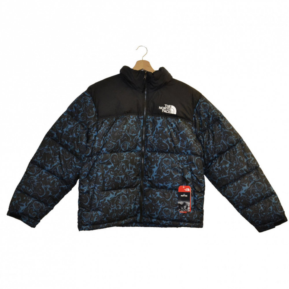 The North Face Retro Nuptse Jacket (Blue Coral)