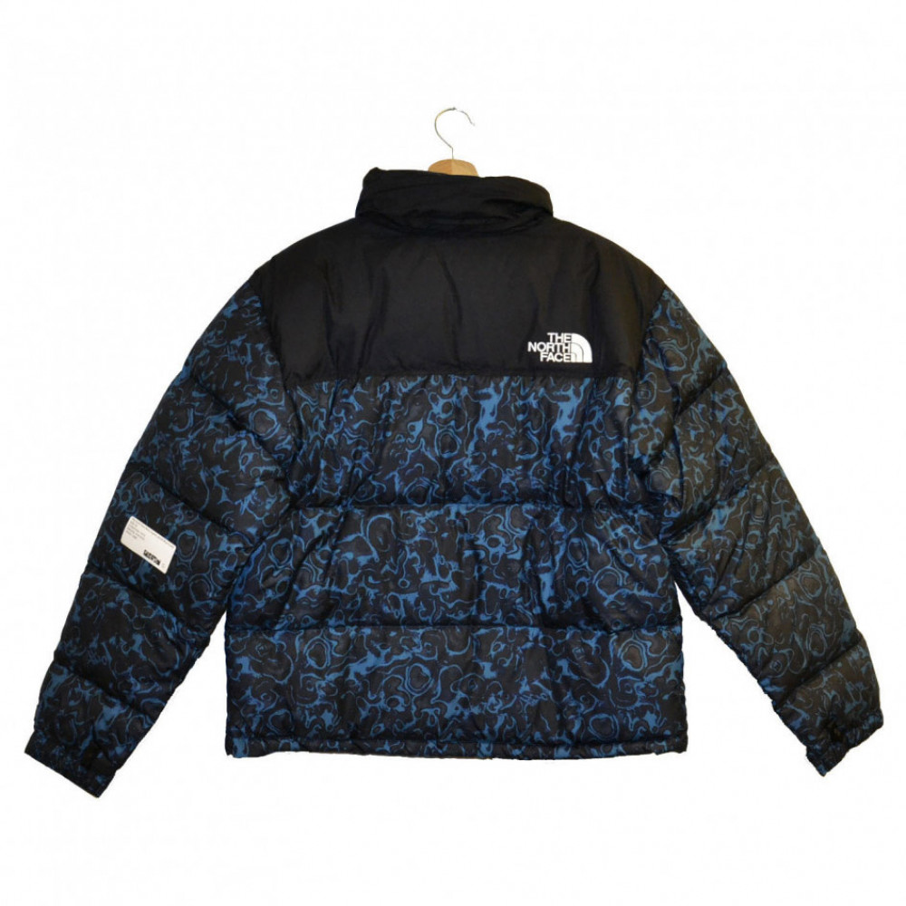The North Face Retro Nuptse Jacket (Blue Coral)